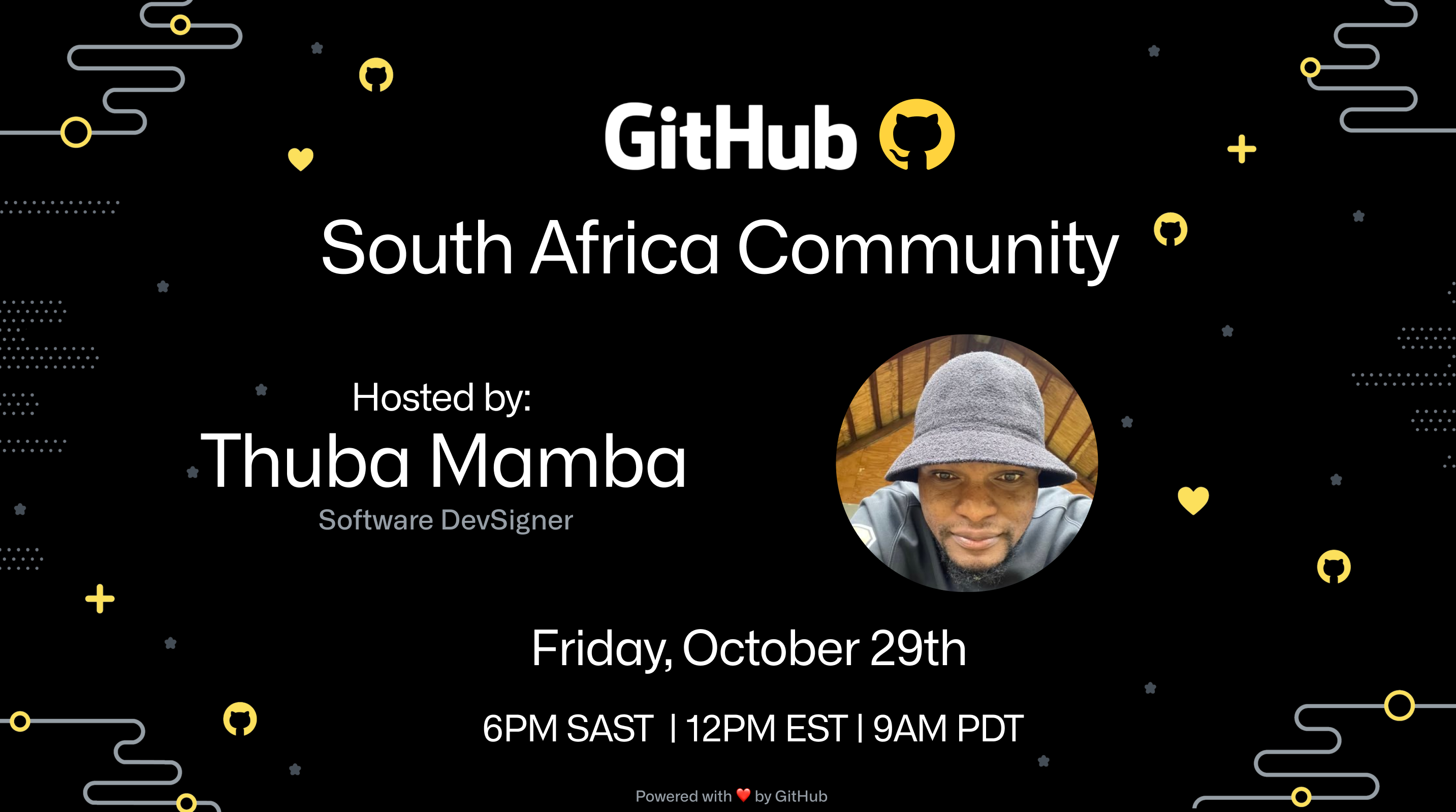 GitHub South Africa Community Event